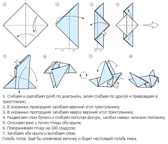 Оригами схемы Оригами.
